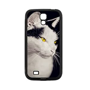 Animal Series Cute Cat Design Hot Black Case For Samsung I9295 GALAXY S4 Active With Best Plastic By All My Dreams