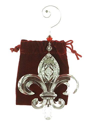 Waterford Crystal 2014 Fleur De Lys Ornament