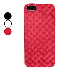 compra Celosía caso suave patrón para el iphone 5/5s (colores surtidos) , Rojo