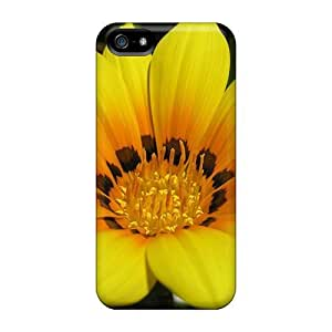 New Style AnnetteL Beautiful Yellow Flower Premium Tpu Cover Case For Iphone 5/5s by icecream design