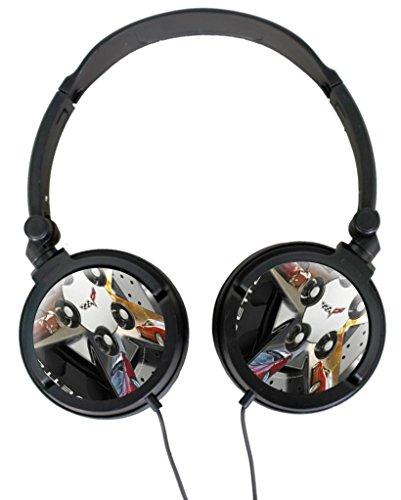 Corvette C6 Custom Ear Lightweight Foldable Noise Reduction Stereo Portable Music Gaming Headset (Custom C6 Corvettes)