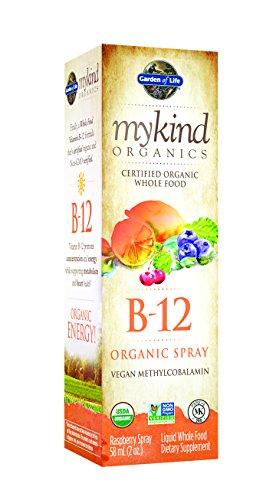 Сад Жизни mykind Organics Органический B-12 спрей, 2 унции Spray