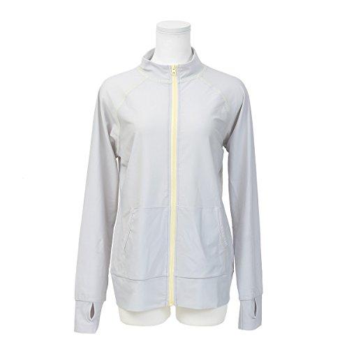 (ファッションレター)FashionLetter スタンドカラー ラッシュガード レディース 夏 長袖 UPF50 UVカット hw8200