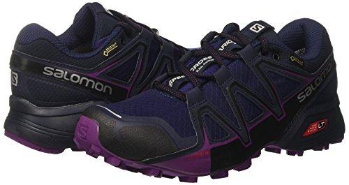 grape Women''s Gtx Blazer Vario Shoes Salomon Juice Speedcross 2 Running astral Purple Aura navy Trail fdwpZqxO