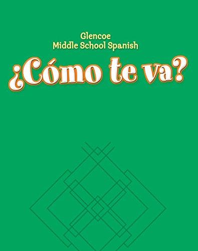 ¿Cómo te va? Level A Nivel verde, Workbook (GLENCOE SPANISH) (Spanish Edition)