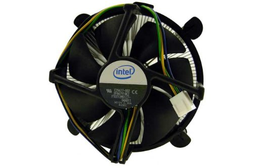 (Intel-IMSourcing E29477-002 Cooling Fan/Heatsink - 1 x 101.6 mm - 4-pin - Socket B LGA-1366 Compatible Processor Socket - Aluminum, Copper - E29477-002 )
