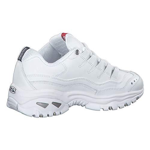 Skechers Sport Women's Energy Sneaker,White/Millennium,10 W US
