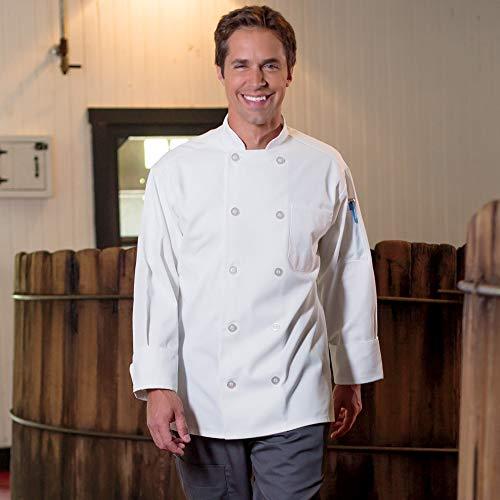 10 Button Chef Coat - 2