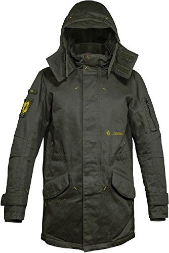 Musterbrand Metal Gear Solid Men Long Winter Jacket Scout...