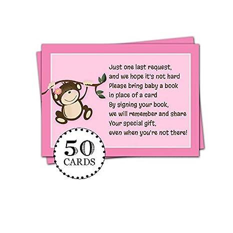 50 tarjetas de felicitación para niña o bebé, con diseño de ...