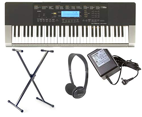 RockJam RJXX363  Xfinity Doublebraced Pre Assembled Highly Adjustable Keyboard