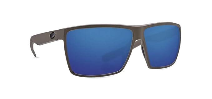 bb8acb6d20 Costa Rincon Sunglasses - Matte Moss Frame - Blue Mirror 580P Poly Polarized  Lens