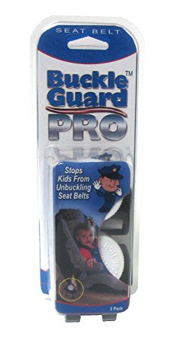 ack, Pack of 2) -- Seat Belt Button Cover deters kids and Disabled Adults from opening seat belts, Fits the larger seat belt buckles in cars, vans, SUVs, and buses (Seat Belt Buckle Lock)