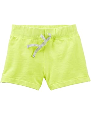 Baby Girls' French Terry Shorts