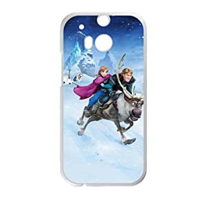 Frozen Princess Anna Kristoff Olaf Sven Cell Phone Case for HTC One M8