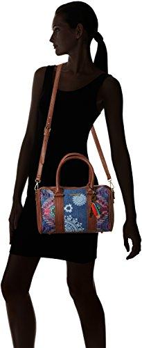 AFRICAN 5006 Blue Top handle Women's Jeans MALTA ART Bag Desigual awB5qB