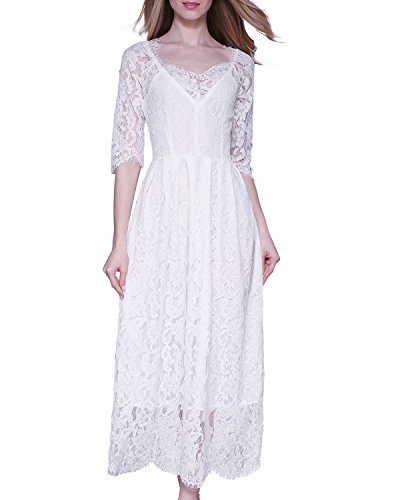 KIMILILY Womens Vintage Elegant Bridesmaid product image