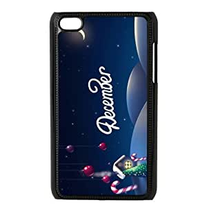 Custom Christmas Back Cover Case for ipod Touch 4 JNIPOD4-285