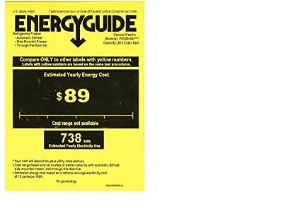 GE PSS28KSHSS Profile 28.4 Cu. Ft. Stainless Steel Side-By-Side Refrigerator
