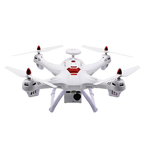 Springdoit Quadcopter map Aerial Photography Drone Advanced FPV 120 °FOV Wide-Angle self-Timer Professional Aerial Photography -> White (Map Aerial Photography)