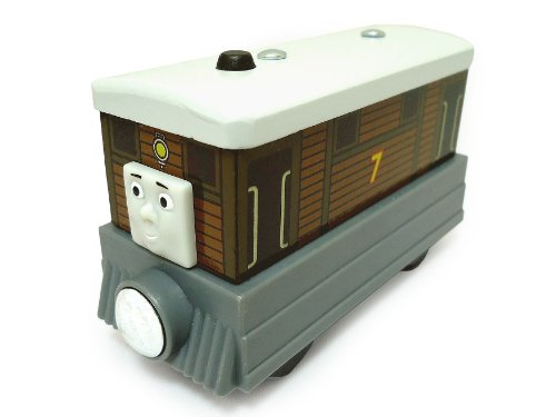 Fisher-Price Thomas & Friends Wooden Railway, Toby - Aquarium Railway Wooden Thomas