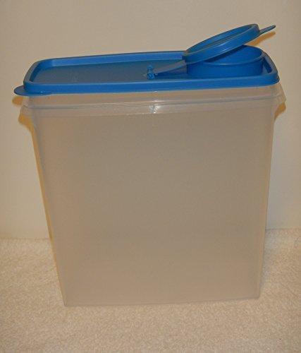 Tupperware Super Cereal Storer 20 Cup Raindrop Blue Seal (Tupperware Super Cereal)