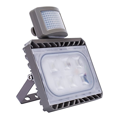 Outdoor Security Lights That Plug In: SOLLA 30W Motion Sensor LED Flood Lights,CREE LED Security