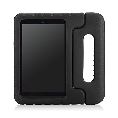 MoKo Case for Fire HD 6 - Kids Shock Proof Convertible Handle Light Weight Super Protective Stand Cover for Amazon Kindle Fire HD 6 Inch 2014 Tablet, BLACK - Kindle Stand Kindle Fire 6