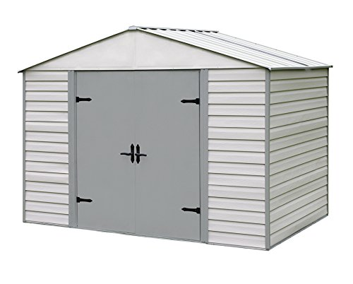 Arrow Storboss Viking Vinyl Coated Steel Shed, 10' x 7' (Shed Vinyl Coated)