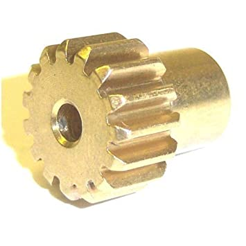BSD 1/10 Scale RC Monster Truck 540 550 EP Motor Pinion Gear 15 Teeth 32  Pitch 15T