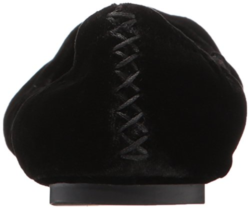 Ballerina Black Flat Women's Brand Emmie Velvet Lucky AwtCUqc