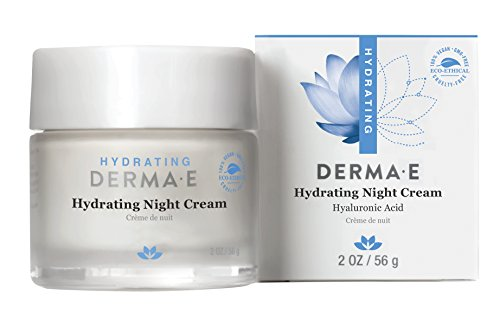 DERMA E Hydrating Night Cream with Hyaluronic Acid (Maximum Replenish Night Cream)