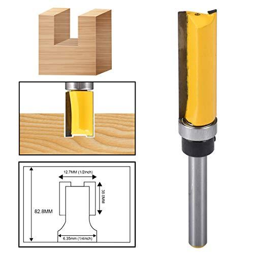 HOHXEN Woodworking Milling Cutter 1/4