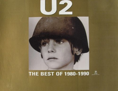 U2 Best Of 1980-1990 New 1998 Promo Poster