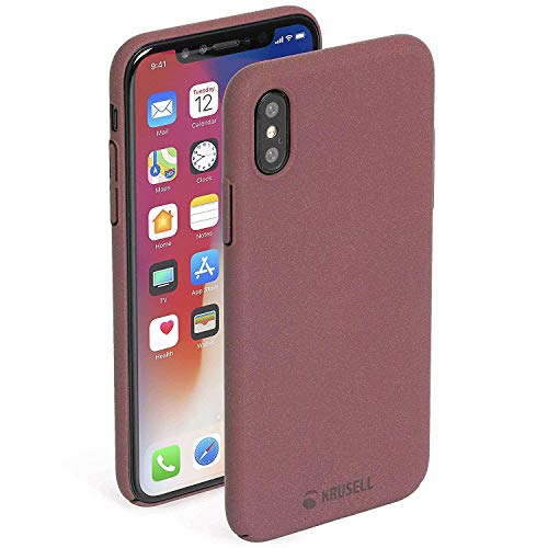 Krusell Cell Phone Case for Apple iPhone X - Rust