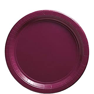 """Big Party Pack Berry Red Paper Plates 