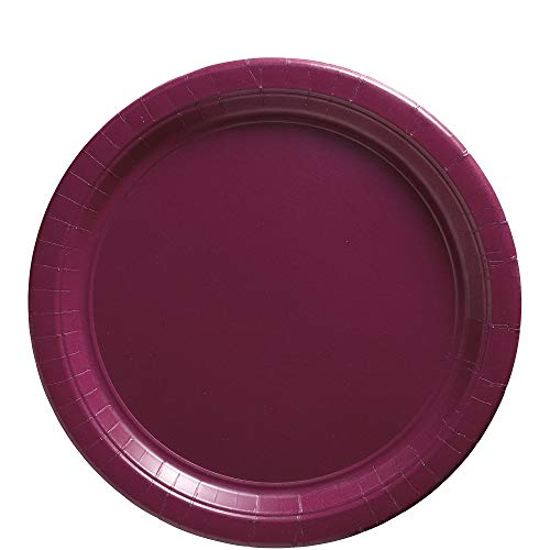 Big Party Pack Berry Red Paper Plates | 9