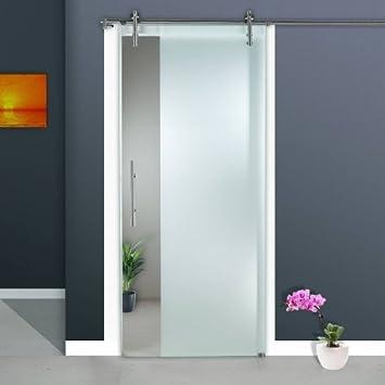 Correderas de cristal puerta ST 963-F1 - 1025 x 2050 x 8 mm a la derecha,