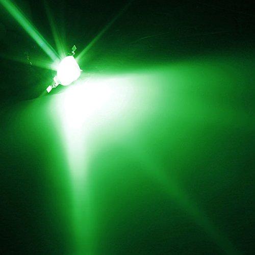 Bazaar Gr/ün 1W High Power 140 /° LED Dioden Chip Bead helle Lampen Birne DIY