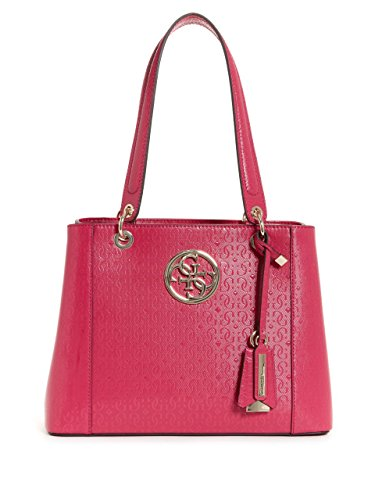 GUESS Kamryn Embossed Shopper (Embossed Leather Shopper)