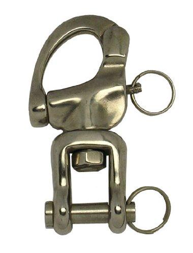 Forcella girevole in acciaio INOX, 93 mm ARBO-INOX