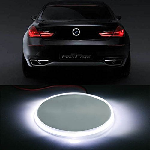 Ijdmtoy  1  82Mm For Bmw Trunk Hood Emblem Background Lighting Kit For 1 2 3 4 5 6 7 X Z Series  Xenon White