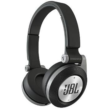 JBL E30 Black High-Performance On-Ear Headphones with JBL Pure Bass and DJ-Pivot Ear Cup, Black