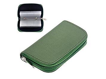 PanpA Durable 22 Slots Case Porta Bolsa para Tarjeta de ...