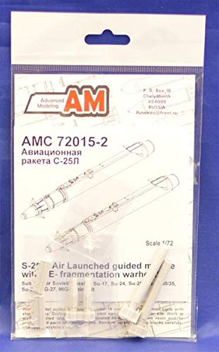 Advanced Modeling 1/72 Scale Resin S-25L Air Launched Missile w/Laser HE - -
