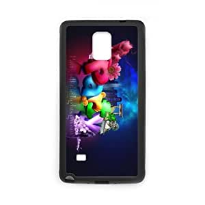 Party Typography Personalized Custom Phone Case for SamSung Galaxy Note4 (Laser Technology) Hard Case Cover Skin