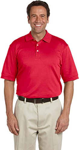 Devon & Jones Herren Poloshirt Gr. Small, rot