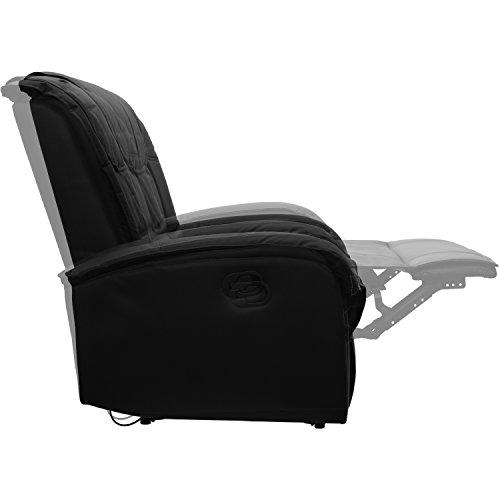 STILISTA® TV Relaxsessel aus echtem Leder, mit ausklappbarer ...