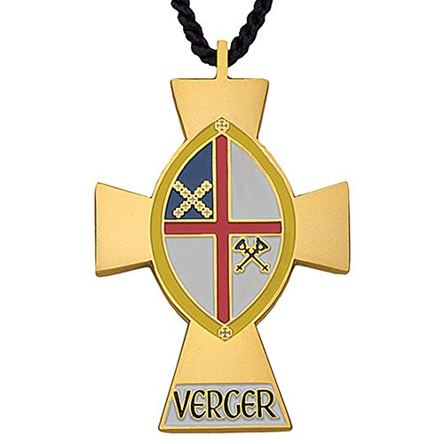 "M-32 Episcopal Church 2 1/4"" Verger Pendant -  Terra Sancta Guild"