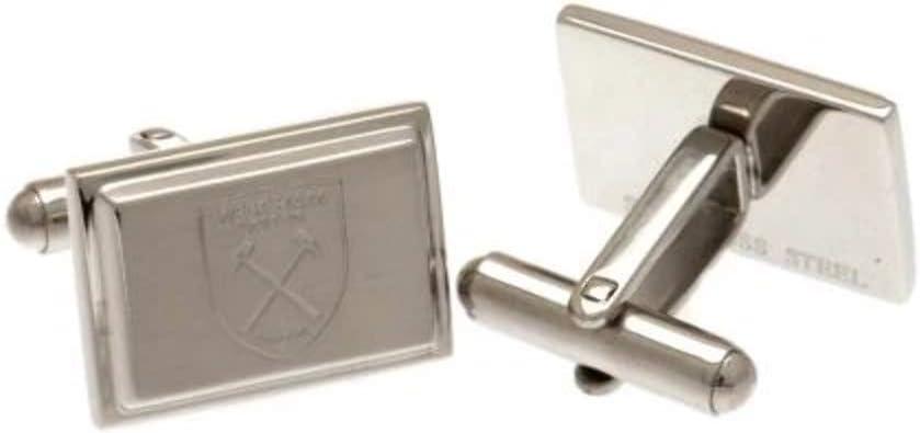 West Ham United F.C Stainless Steel Cufflinks CR - GIFT